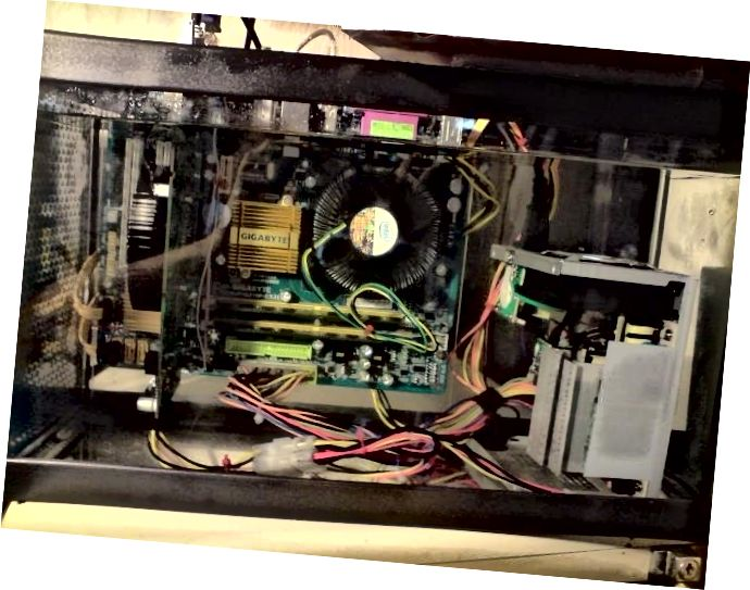 PC refrigerat per immersió en oli