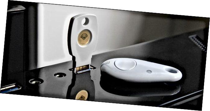 Κλειδιά ασφαλείας Google Titan