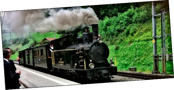 רכבת מנוע אדים