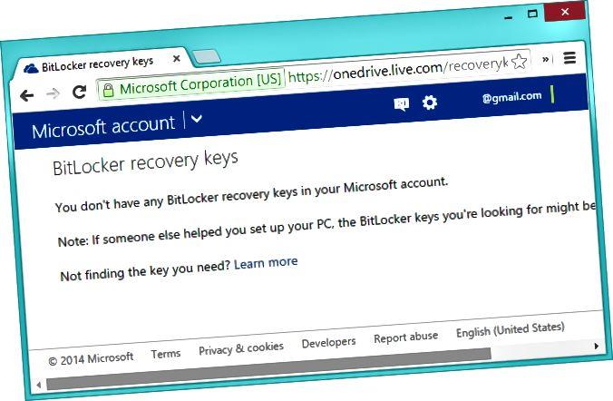 κρυπτογράφηση-ανάκτηση-κλειδιά-αποθηκευμένος-σε-λογαριασμό Microsoft