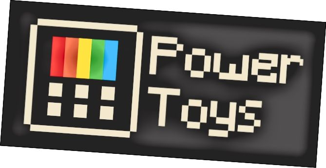 Афіцыйны лагатып Microsoft PowerToys
