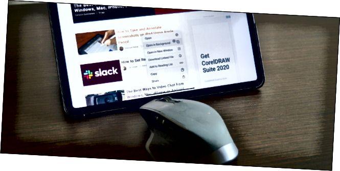 Το iPad Pro εμφανίζεται με ποντίκι Bluetooth