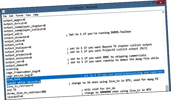 comskip-text-editor