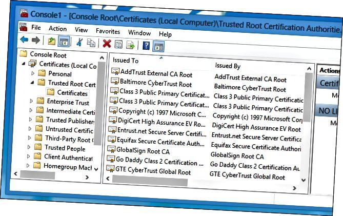 install-root-certificaat