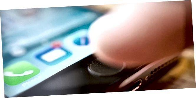 duebel Press doheem fir rezent Apps opzemaachen