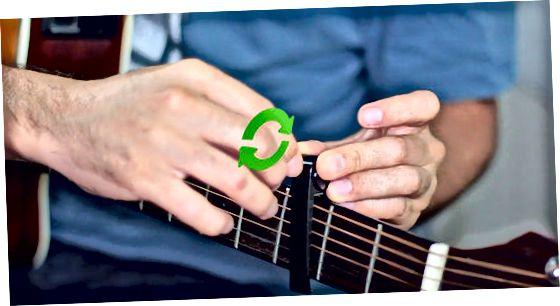 Placering af Capo på din guitar