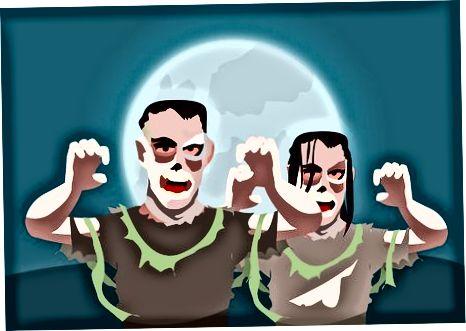 Spooky Party-ga mezbonlik qilish