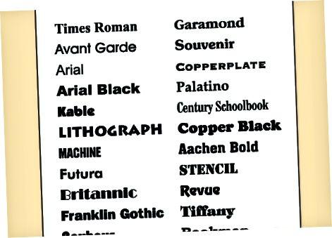 Formatering af en bogsynopsis