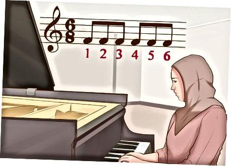 Anvendelse af det til musik