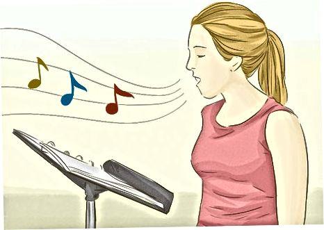 Vokal mashg'ulotlarini taklif qilish
