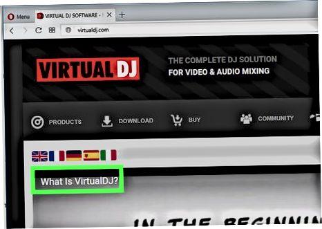 At få virtuel DJ