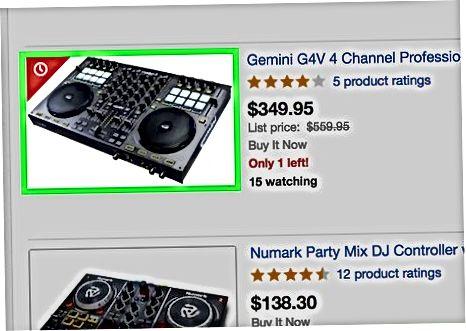 Brug af virtuel DJ til almindelige DJ-lyde