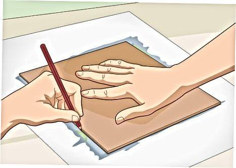 Montering af papir til lakering