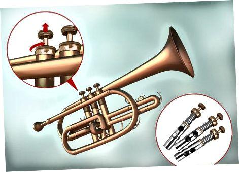 Demontering af trompeten