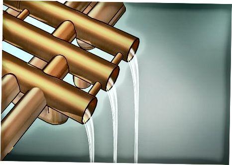 Rengøring af ventiler og mundstykket