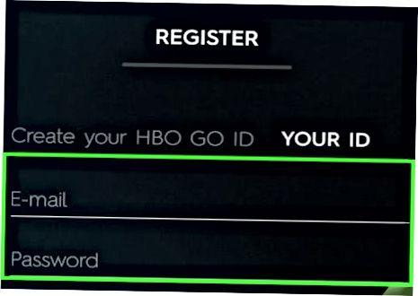 HBO-ni faollashtirish Kompyuterda ko'rishga o'ting