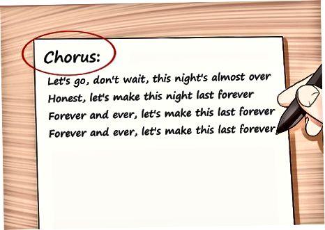 Crafting mindeværdige sangtekster