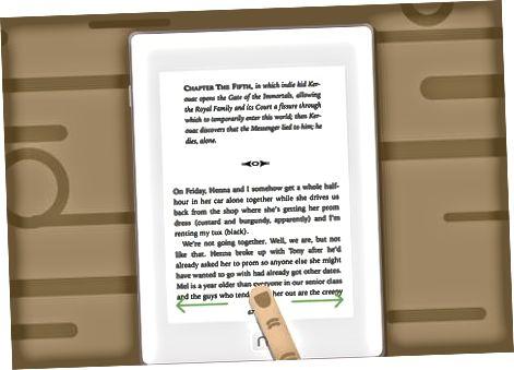 Læsning af bøger på din krog