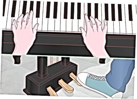 Læsning af musik med pedalmarkeringer