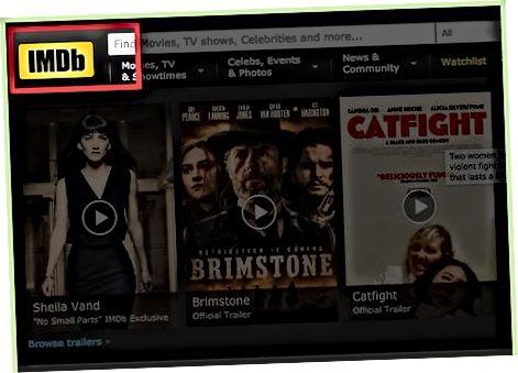 IMDb hisob qaydnomasi uchun ro'yxatdan o'tish