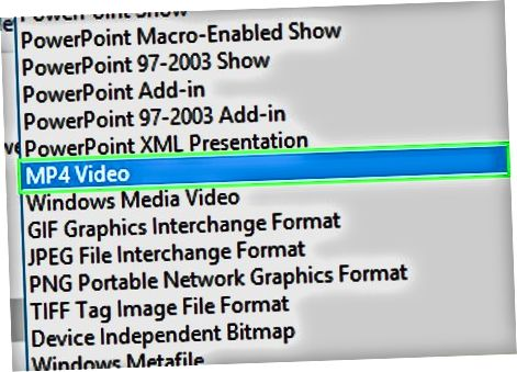 PowerPoint-ni videoga aylantirish
