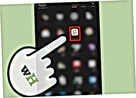 In Kindle Fire HDX-da o'rnatilgan Indirilgan Appread orqali