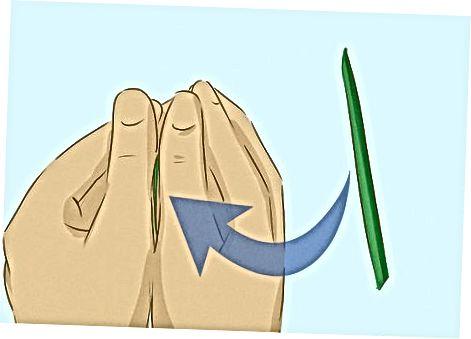 Grass pichoqlaridan foydalangan holda yuqori hushtakni yaratish