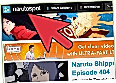 Besøg anime fan-websteder for at se tegneserier online