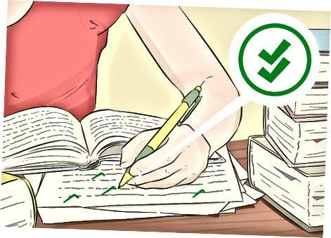 Gennemgang af din bograpport