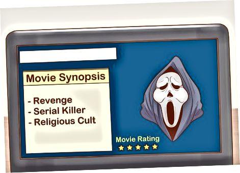 Forbereder sig mentalt på en rædselfilm