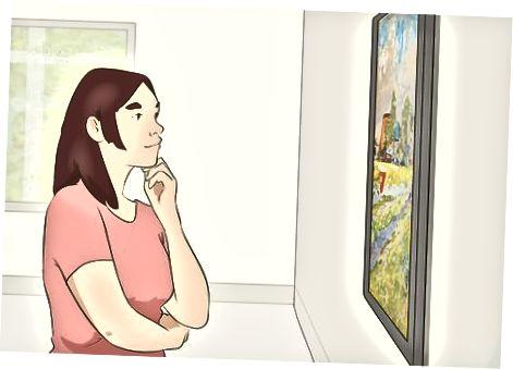 Visning af udstillingen