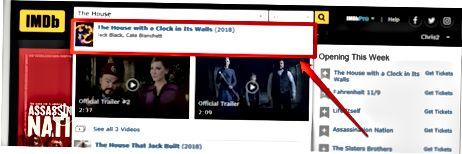 IMDb veb-saytidan foydalanish