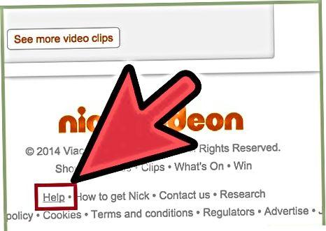 Nickelodeon Online-ga murojaat qilish