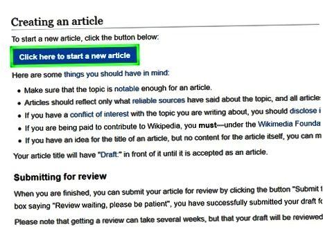 Indsendelse af en foreslået artikel som en ikke-autokonfirmeret bruger
