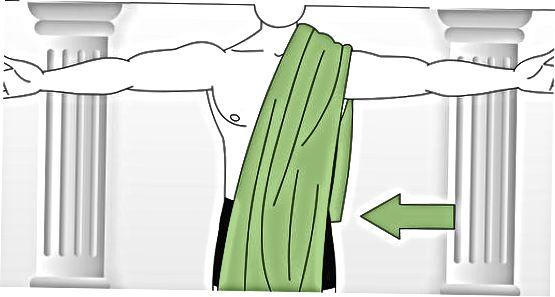 Indpakning af en klassisk Toga omkring din front