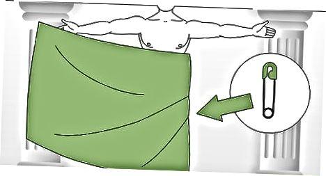 Indpakning af en Saree-inspireret Toga