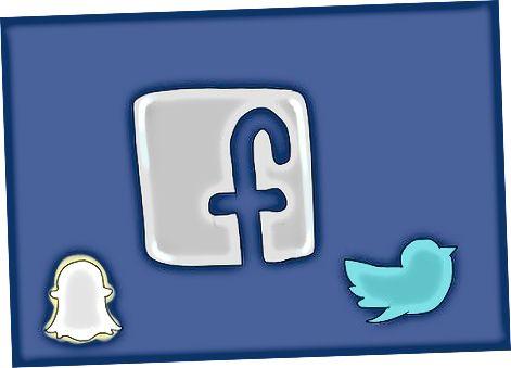 Oprettelse af en tilstedeværelse på sociale medier