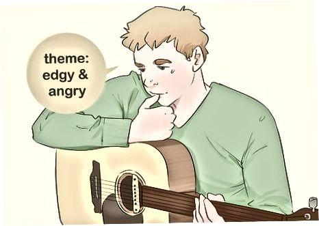 Idéer til brainstorming til din sang