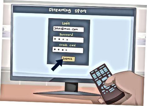 Brug af en streamingtjeneste
