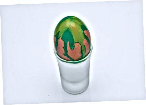 Maleri af strækkede æg