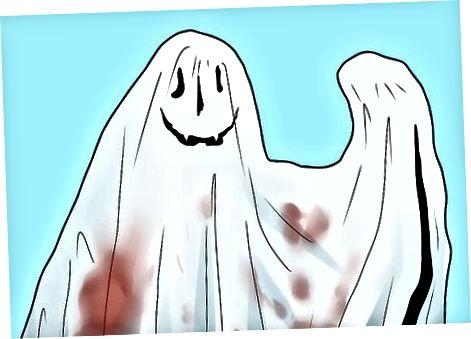 Een spookkostuum maken