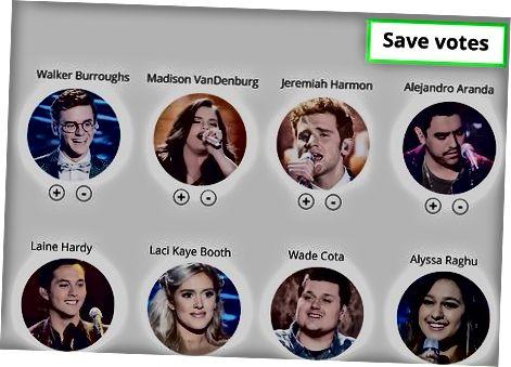 Afgiv din stemme online