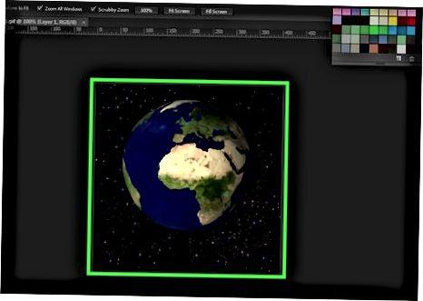 Photoshop yoki GIMP-dan Statik GIF-dan foydalanish
