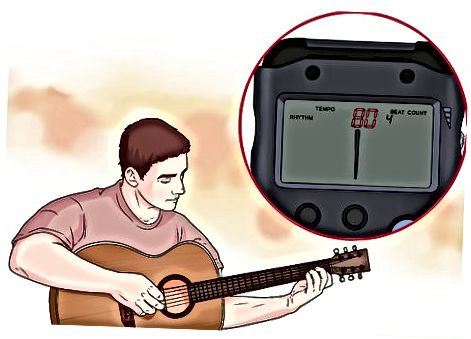 Øve med en metronom