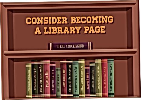 Forståelse af biblioteksarbejde på indgangsniveau