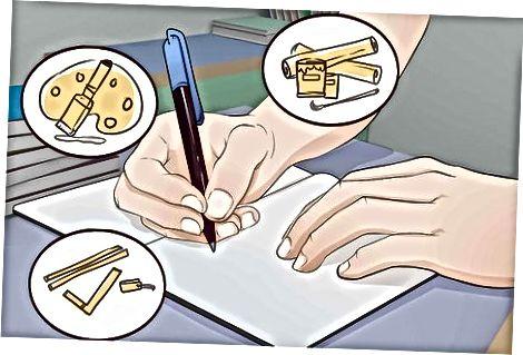 Skrivning af nøglekomponenter