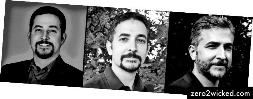 Min resa från tung 2008, till riktigt tunn 2011, till glad och frisk idag (vänster till höger)