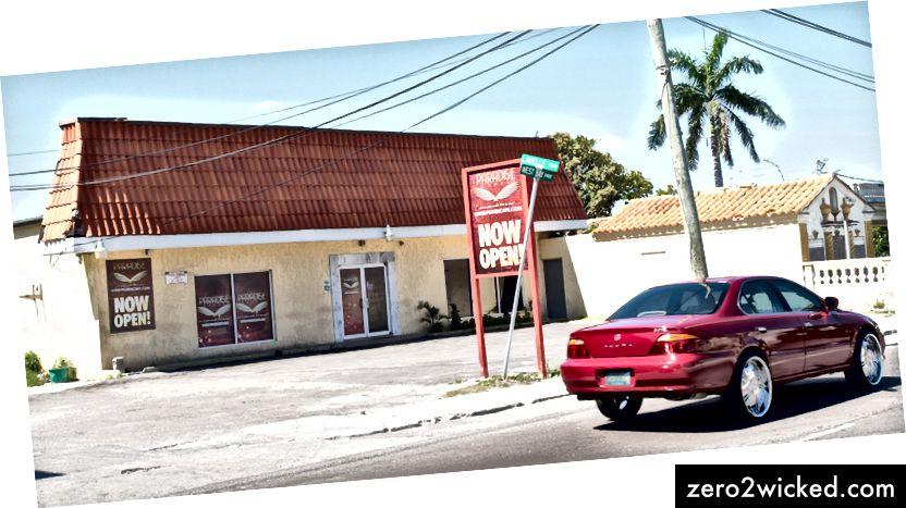 Једна од многих локација Парадисе Гамес на Бахамима