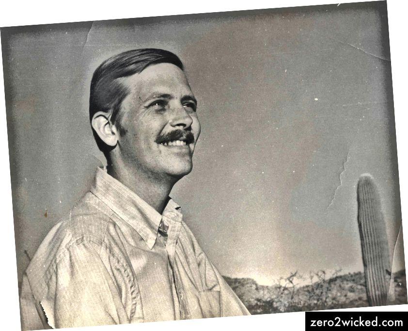 Ребекин отац, Степхен, инспирација иза Блоод Роада. | © Ред Булл Садржај базена
