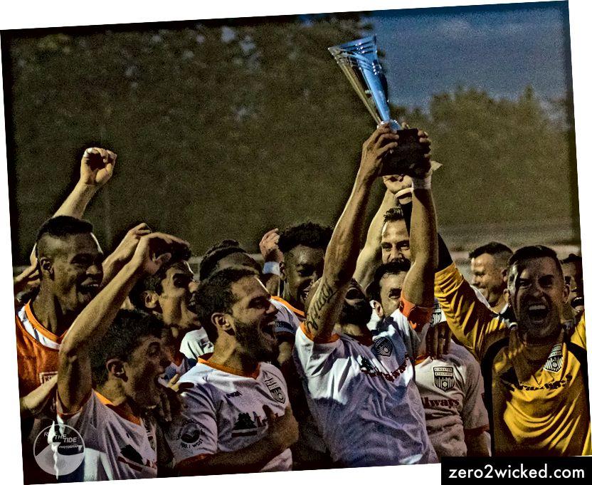 Стоцкаде ФЦ осваја трофеј шампионата Атлантске беле конференције НПСЛ - јул 2017. године